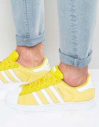 Adidas Originals Superstar Summer Pack Trainers S75662 Yellow