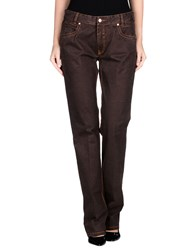 Brooksfield Trousers Casual Trousers Women Dark Brown