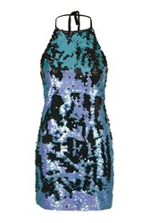 We All Shine Sequin Halter Dress By Multi