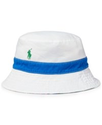 Polo Ralph Lauren Classic Reversible Chino Sports Cap White Pink
