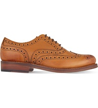 Grenson Stanley Oxford Leather Brogues