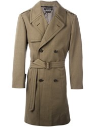 Marc Jacobs Belted Trench Coat Green