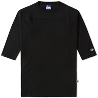 Champion X Beams Horizontal Zip Tee Black