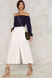 Hanover Linen Culottes White
