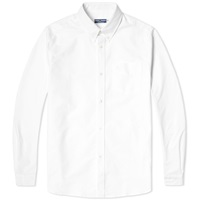 Fred Perry Reissues Heavy Oxford Shirt White