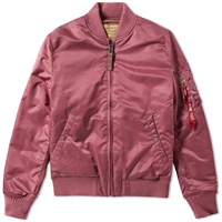 Alpha Industries Ma 1 Vf 59 Flight Jacket Pink