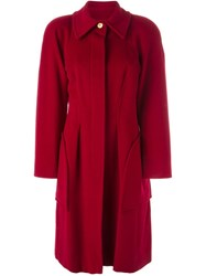 Christian Lacroix Vintage Large Pockets Coat Red