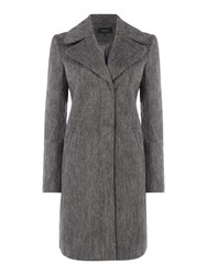 Vila Long Sleeve Coat Grey