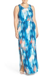 Plus Size Women's Tart 'Byrdie' Print Racerback Maxi Dress
