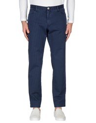 Maestrami Trousers Casual Trousers Men Dark Blue