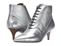 M Missoni Lace Booties Silver Women's Shoes