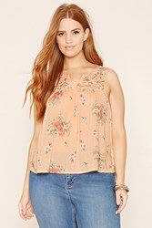 Forever 21 Plus Size Crochet Lace Top