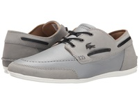 Lacoste Misano Boat 5 Grey Men's Lace Up Casual Shoes Gray