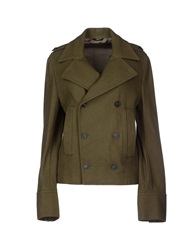 Patrizia Pepe Jackets Military Green