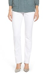 Women's Jag Jeans 'Peri' Pull On Stretch Straight Leg Jeans White