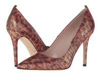 Sarah Jessica Parker Fawn 100Mm Tradition Metallic Leopard