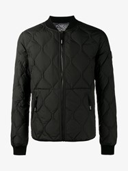 Kenzo Reversible Quilted Puffer Jacket Black Blue Grey White Denim