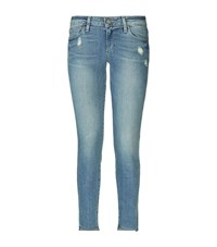 Paige Verdugo Uneven Ankle Jeans Female Blue