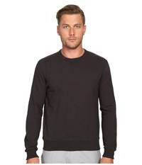 Todd Snyder Patch Crew Sweatshirt Charcoal