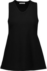 Alexander Wang T By Modal Blend Terry Tank Black
