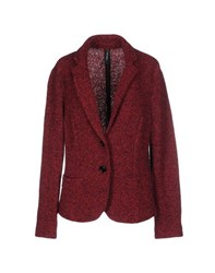 Marc Cain Suits And Jackets Blazers Women Maroon