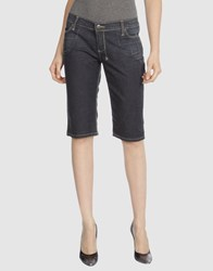 Ksubi Denim Denim Bermudas Women Blue