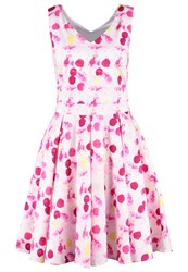 More And More Summer Dress Fresh Rose Pink