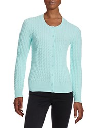 Lord And Taylor Cableknit Cardigan Aries
