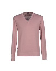 Blauer Knitwear Jumpers Men Pastel Pink