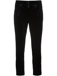 Dsquared2 'Victorian' Cropped Trousers Black
