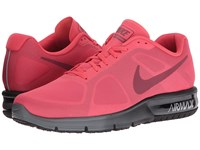 Nike Air Max Sequent Ember Glow Team Red Black Charcoal Grey Men's Running Shoes Pink