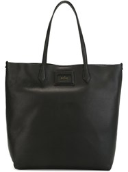 Hogan Logo Shopper Bag Black