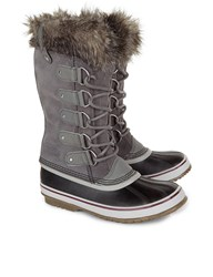 Sorel Grey Joan Of Arctic Long Boots