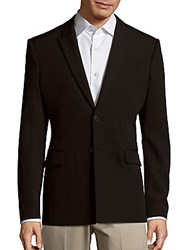 Givenchy Two Button Wool Jacket Black