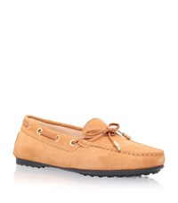 Tod's Gommino Driving Shoe Female Tan