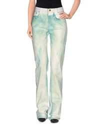 Roberto Cavalli Denim Denim Trousers Women Green