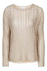Loose Knit Jumper By Jovonna Cream