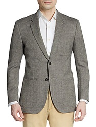 English Laundry Regular Fit Tweed Wool Blend Sportcoat