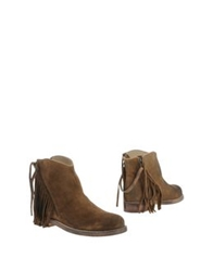 Mr. Wolf Ankle Boots Khaki