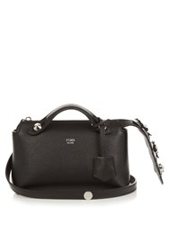 Fendi By The Way Mini Crystal Tail Cross Body Bag Black