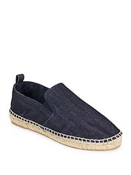 Vince Robin Denim Espadrilles Dark Denim