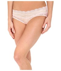 B.Tempt'd Lace Kiss Hipster Crystal Rose Women's Underwear Pink