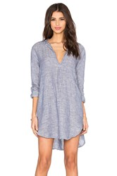 Cp Shades Teton Tunic Dress Blue