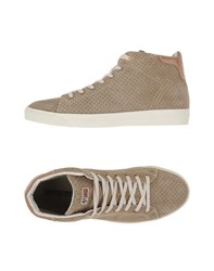 Napapijri Footwear High Tops And Trainers Men Khaki
