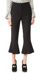 Salvatore Ferragamo Flare Pants Black