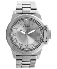 Sean John Men's Silver Tone Bracelet Watch 56X49mm 10018069