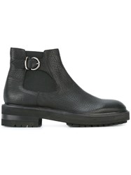 Fratelli Rossetti Buckled Detailing Ankle Boots Black