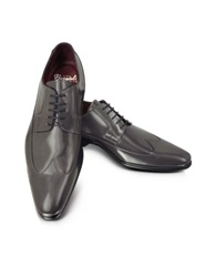 Fratelli Borgioli Cricket Shiny Wingtip Derby Gray