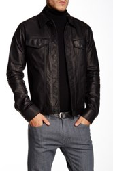Helmut Lang Leather Jacket Black