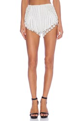 Alice Mccall The Arch Shorts White